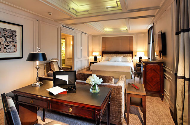 Hotel villa magna hotel in madrid center - Villamagna hotel madrid ...