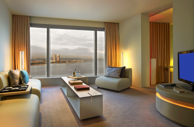 Hotel w barcelona hotel in barcelona center for Best hotel rooms