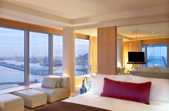 Hotel w barcelona hotel en barcelona centro for Spa hotel w barcelona