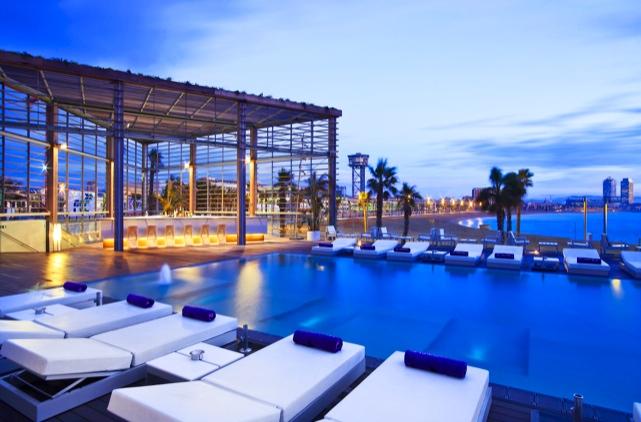 Hotel w barcelona hotel in barcelona center for Chambre hote barcelone
