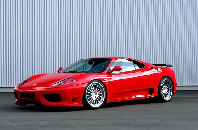 rental ferrari 360 modena f1 luxury car rentals in spain. Black Bedroom Furniture Sets. Home Design Ideas