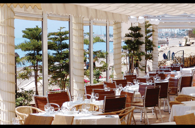 Restaurant Cafe del Mar Marbella
