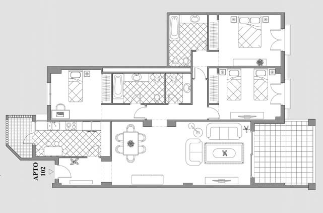 Appartement TGS-0435