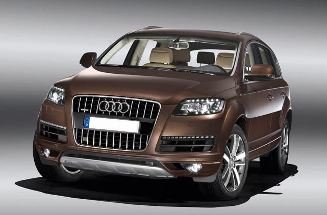Rental Audi Q7 3 0 Tdi Luxury Car Rentals In Spain