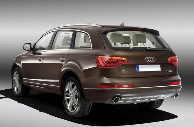 rental audi q7 3 0 tdi luxury car rentals in spain. Black Bedroom Furniture Sets. Home Design Ideas