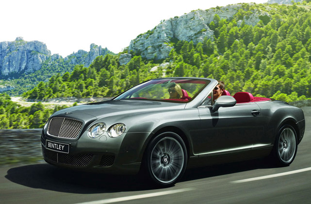 rental bentley continental gtc cabrio luxury car rentals. Black Bedroom Furniture Sets. Home Design Ideas
