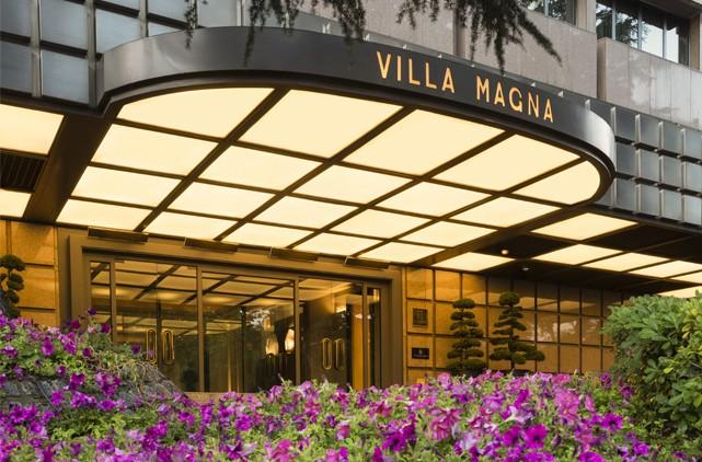 Hotel villa magna hotel en madrid centro - Villamagna hotel madrid ...