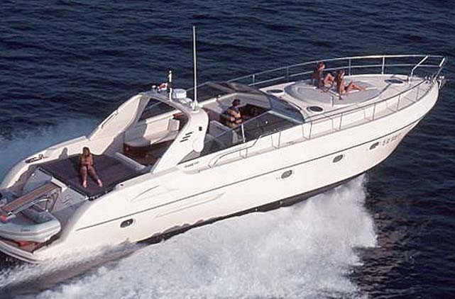 Yacht Rental Gianetti 55 Sport Open